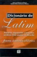 DICIONARIO DE LATIM PARA UNIVERSITARIOS - PALAVRAS
