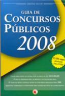 REV - GUIA DE CONCURSOS PUBLICOS 2008 J