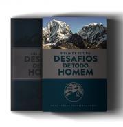 BIBLIA DE ESTUDO - DESAFIOS DE TODO HOMEM - AZUL C