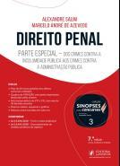 SINOPSES PARA CONCURSOS - V. 03 - DIREITO PENAL -