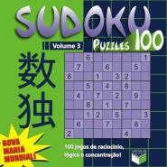 SUDOKU PUZZLES - V. 03 - 100 JOGOS DE RACIOCINIO,